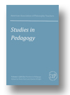 Cover of American Association of Philosophy Teachers Studies in Pedagogy