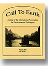 Cover of Call to Earth