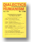 Cover of Dialectics and Humanism