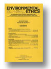 Cover of Environmental Ethics