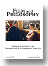 Cover of Film and Philosophy
