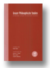 Cover of Grazer Philosophische Studien