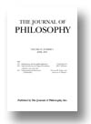 Cover of The Journal of Philosophy