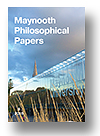 Cover of Maynooth Philosophical Papers