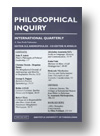 Cover of Philosophical Inquiry