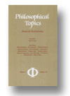 Cover of Philosophical Topics