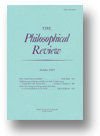 Cover of The Philosophical Review