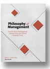 Cover of Philosophy of Management