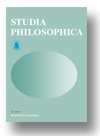 Cover of Studia Philosophica