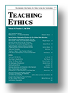Cover of Teaching Ethics