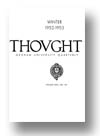 Cover of Thought: Fordham University Quarterly