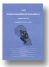 Cover of Documents from the XVIII World Congress of Philosophy